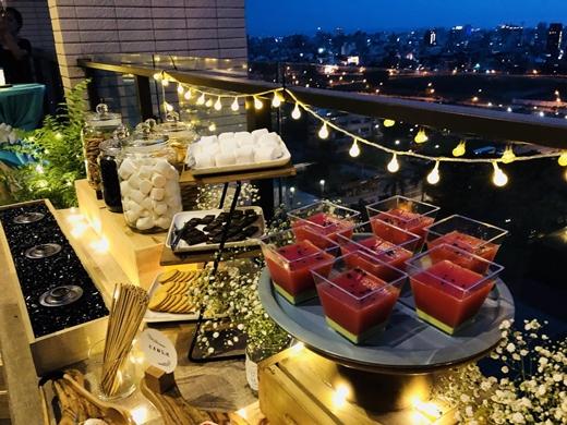 【台中外燴】buffet完全是把國外歐式自助餐會原汁原味搬到台灣●外燴服務有夠專業~