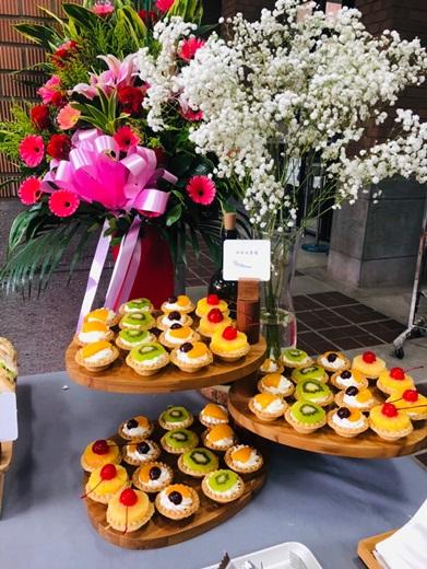 【鄉村風外燴】台中外燴推薦€西式點心甜而不膩! 餐點不馬虎,專業服務,食材新鮮多元化