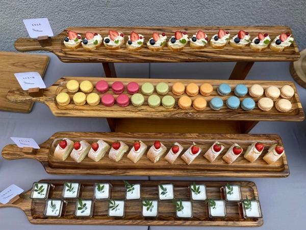 [生日慶生派對]  鄉村風+戶外婚禮+抓週+buffet+佳餚+首選+推薦衛生看得見,新鮮更美味的盛宴!