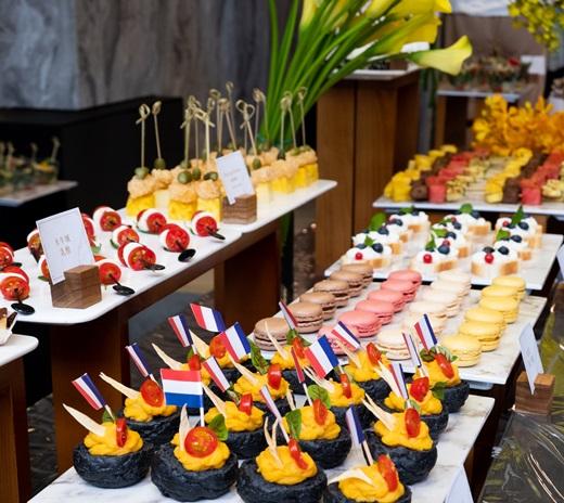 真的超級好吃的【台中外燴推薦】各式各樣精緻的歐式自助餐!是一個會讓我念念不忘比其他外燴辦桌還強的外燴自助餐~~